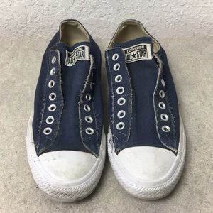 ✅Men Converse All Star Navy Shoes size 9